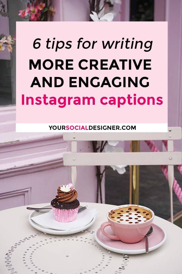 Creative and engaging Instagram captions, how to do it? I will explain how to increase your Instagram engagement and why engaging captions are Important!
